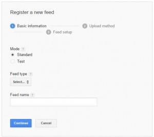 Google Merchant Test Feed vs Live Feed