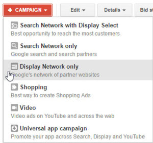 Google Adwords Display Remarketing