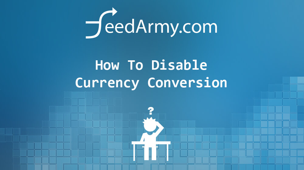 How To Disable Currency Conversion