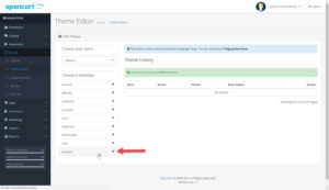 OpenCart 3 Theme Editor Product