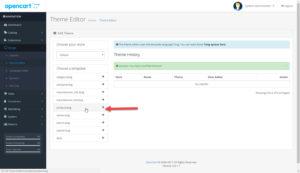 OpenCart 3 Theme Editor Product Twig