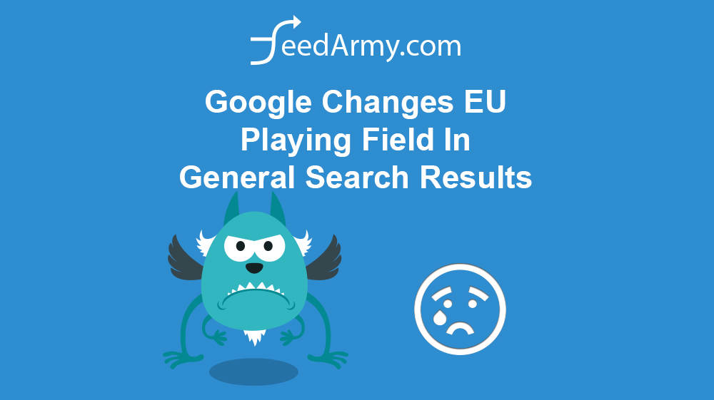 Google Changes EU Playing Field In General Search Results