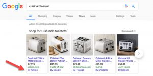 Google Web Search Changes