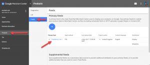Google Merchant Your Feed