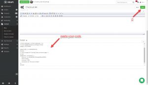 conversion tracking 3dcart paste your code