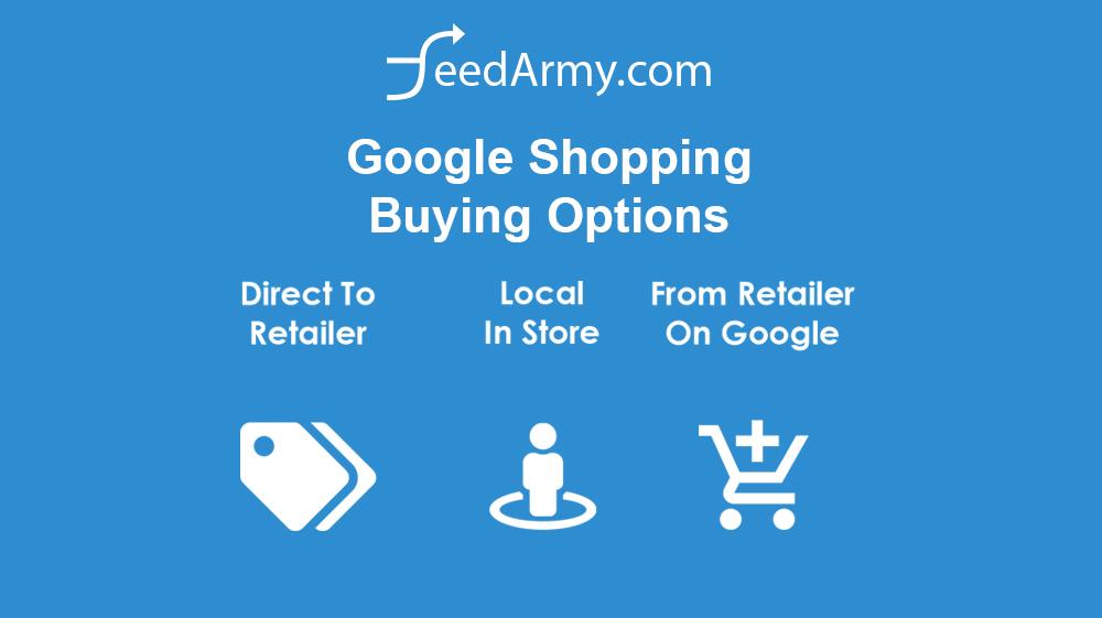 Google Shopping Buying Options