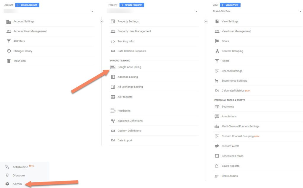 Link Google Analytics To Google Ads