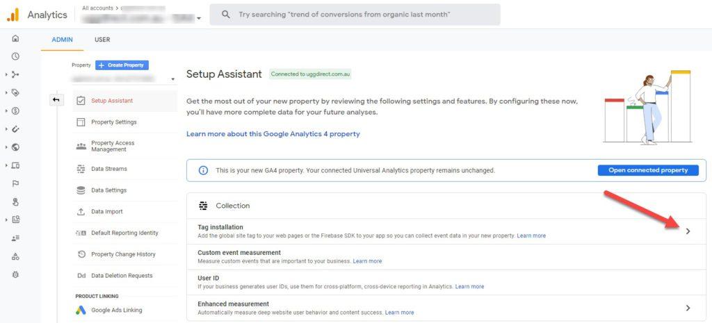 Google Analytics 4 GA4 Tag Installation