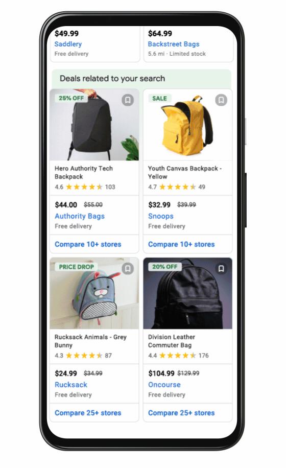 Google Shopping Deals