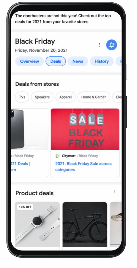 Web Search Shopping Deals