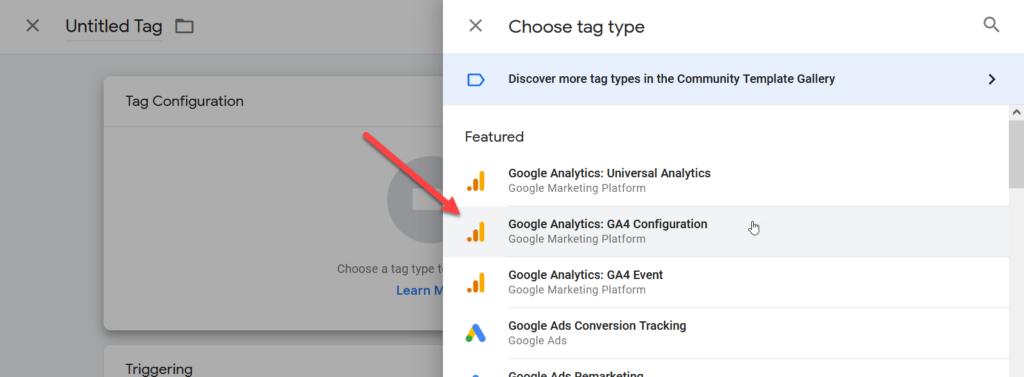 Google Analytics GA4 Configuration