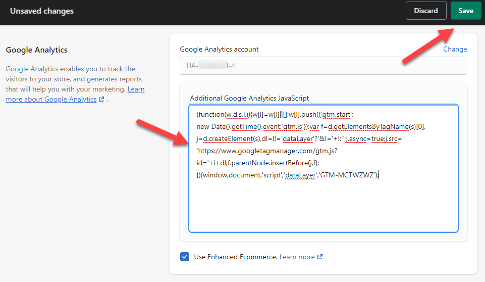 Install Google Tag Manager In Shopify